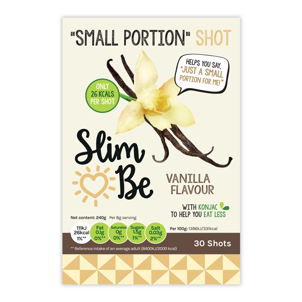 vanilla flavour small portion shots